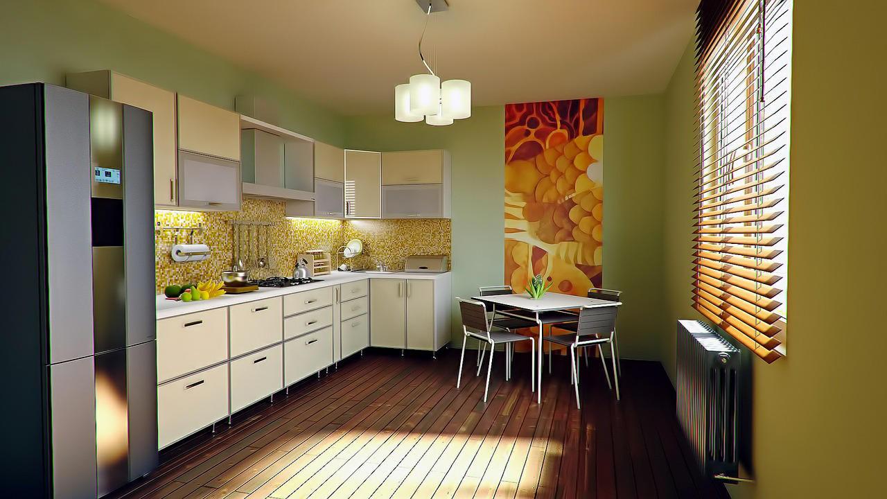 Cucina su due pareti