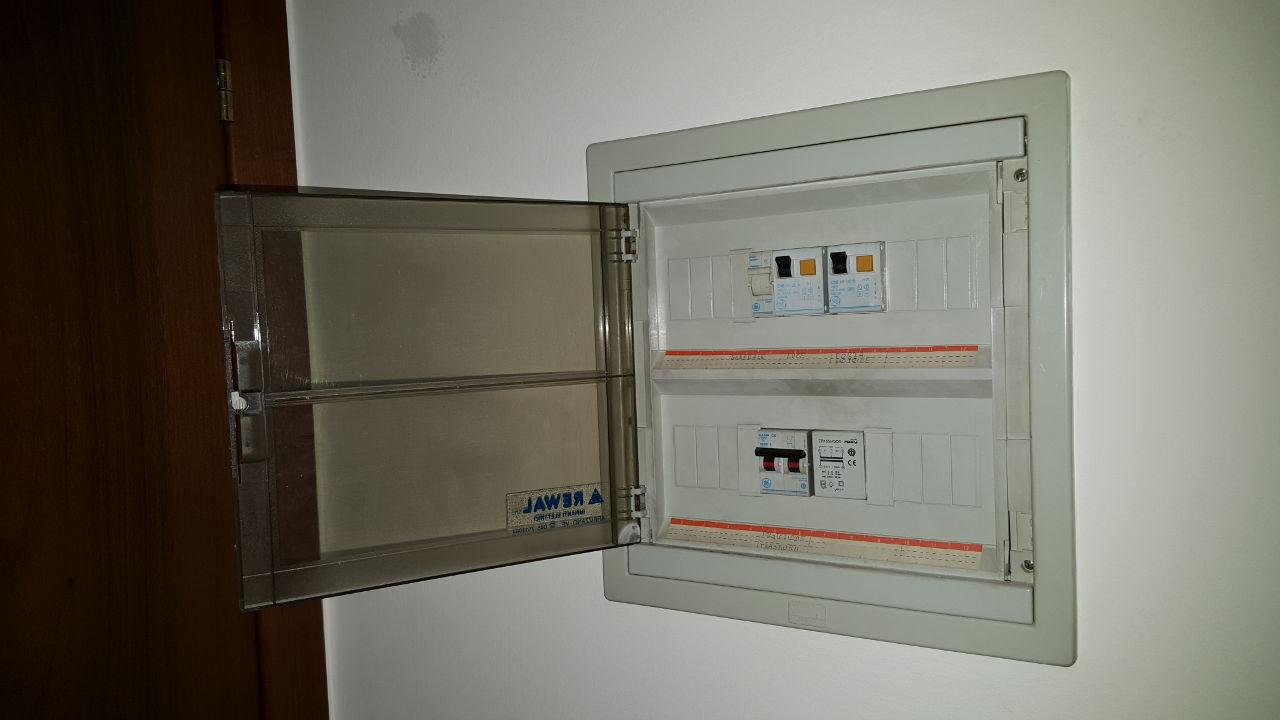 Dove posizionare il quadro elettrico in casa architettura a domicilio - Quadro elettrico casa a norma ...