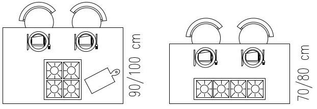 Cucina con isola: il piano cottura-Architettura a domicilio®