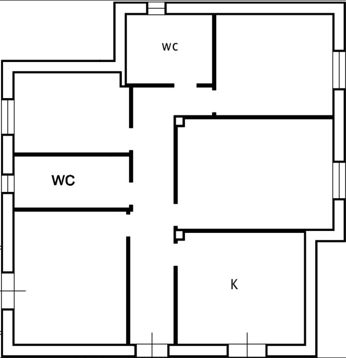 Progetto 110 mq architettura a domicilio for Planimetrie della cabina di log con soppalco
