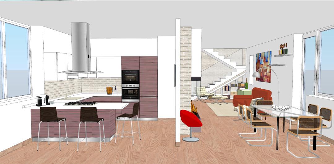 progetto 140 mq-Architettura a domicilio®