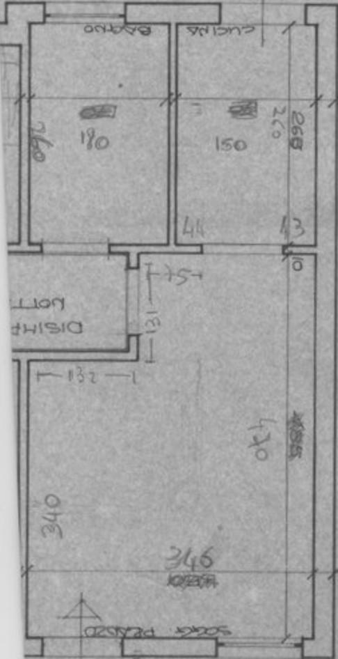 progetto 20 mq-architettura a domicilio® - Soggiorno Pranzo 20 Mq