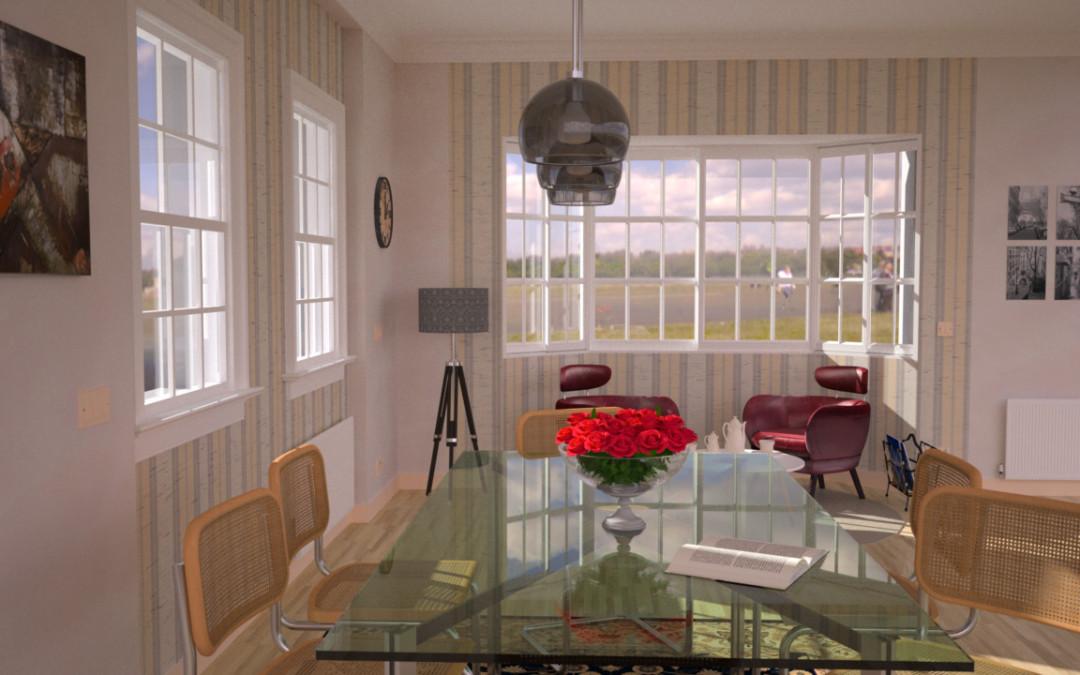 Che ne pensi del tavolo in acciaio e cristallo?
