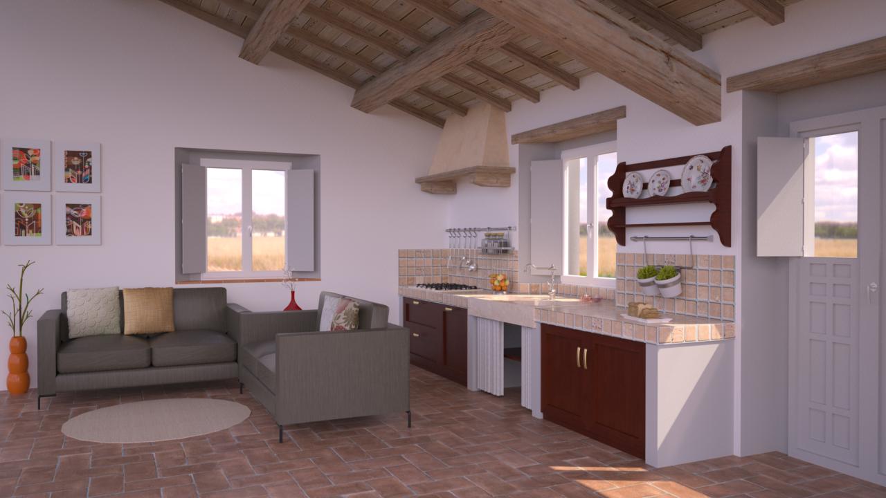 Progetto 35 mq architettura a domicilio for Casa di 1200 metri quadrati