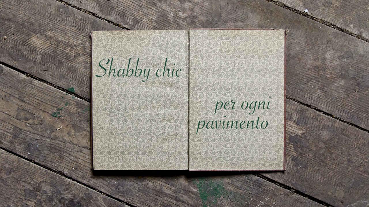 shabby chic per ogni pavimento-architettura a domicilio® - Piastrelle Bagno Shabby Chic