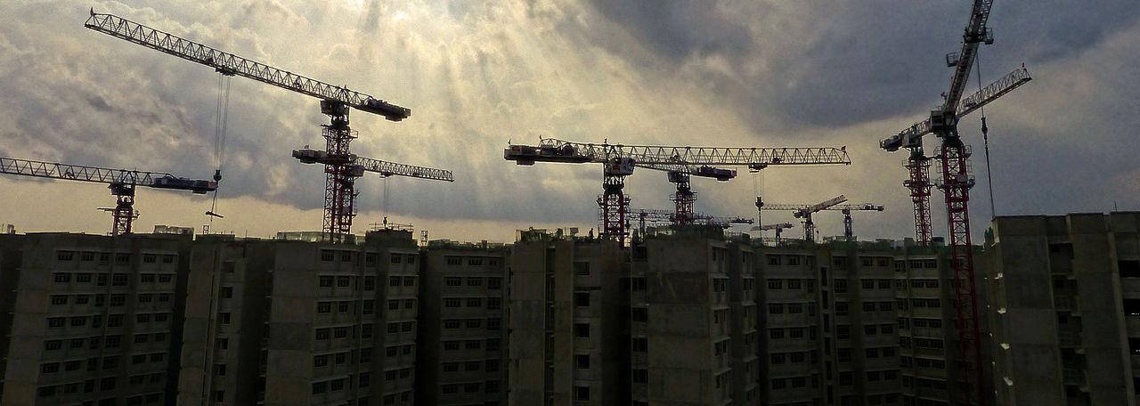 condono e sanatoria differenze: foto di un cantiere generico