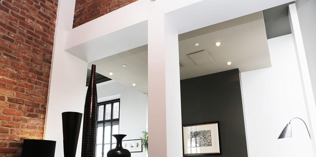 controsoffitto in cartongesso-architettura a domicilio® - Esempi Cartongesso Cucina Soggiorno