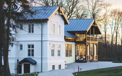 Finiture esterne della casa