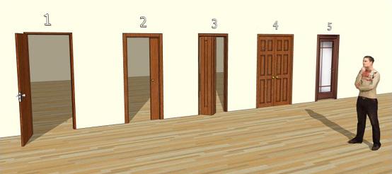 Tipologie porte per interni architettura a domicilio - Tipi di porte interne ...