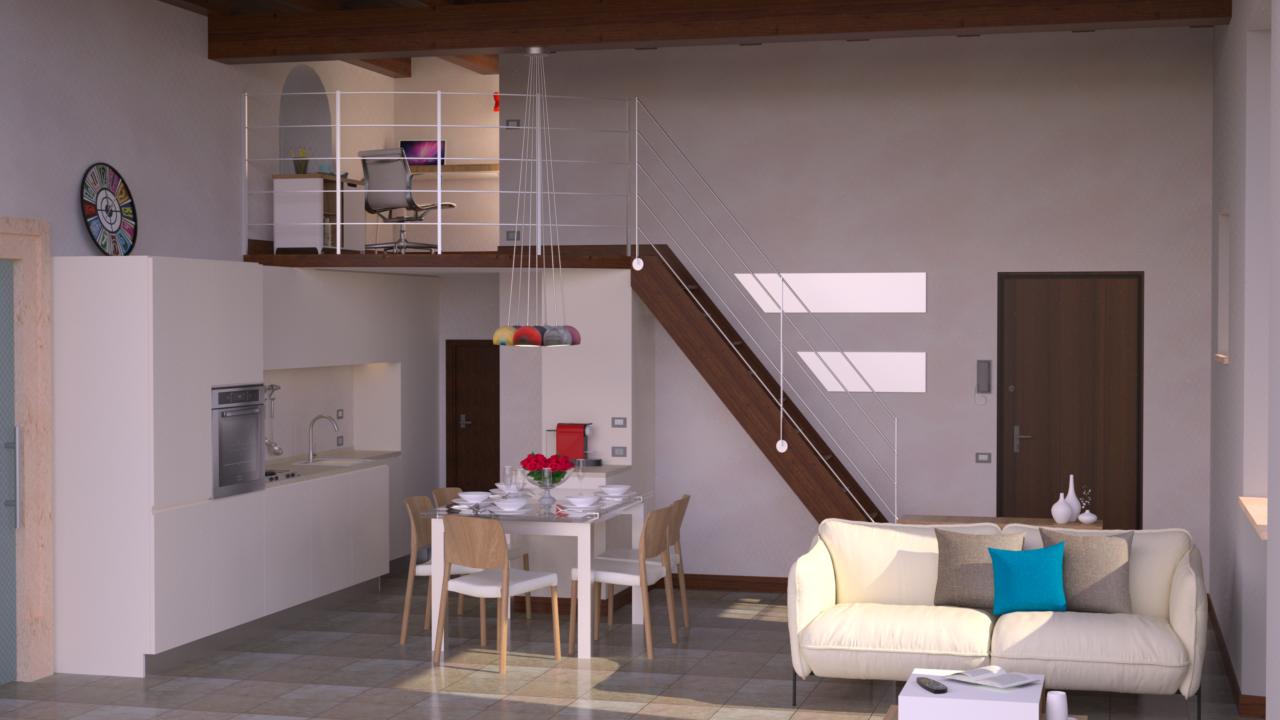 Progetto 55 mq architettura a domicilio - Progetto casa 85 mq ...