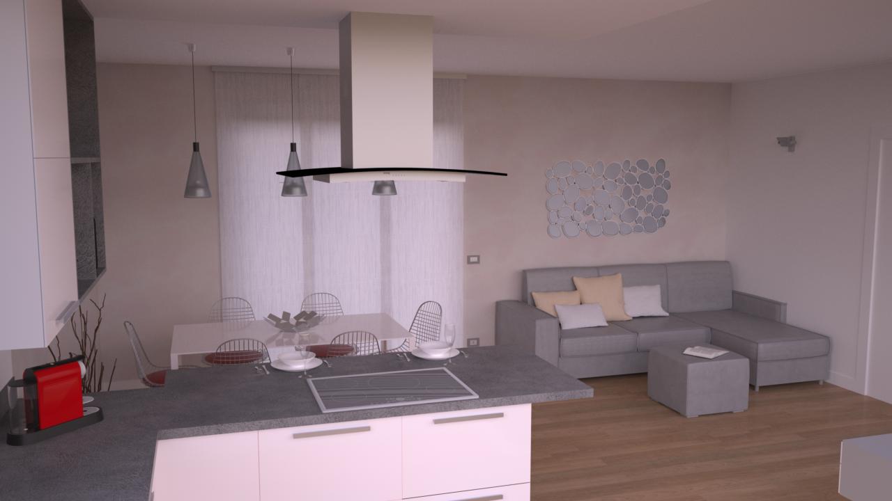 Progetto 85 mq architettura a domicilio for Casa di 1200 metri quadrati