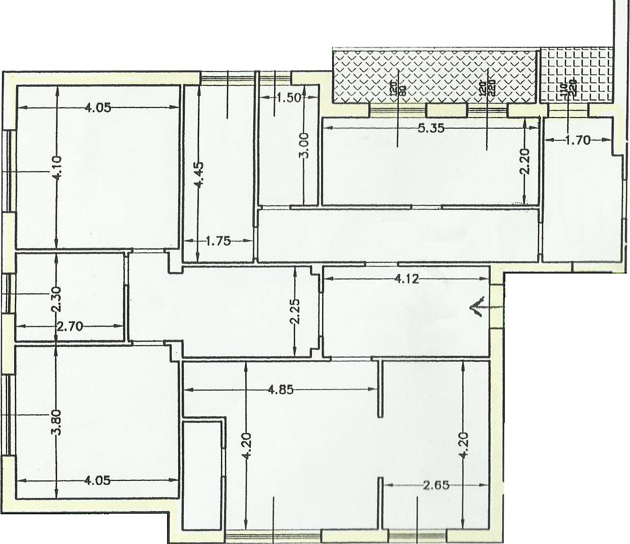 Planimetria online esempio file progetto online da for Disegnare planimetria casa online gratis