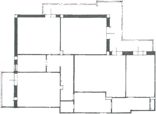 Progetto 150 mq architettura a domicilio for Arredare appartamento 100 mq