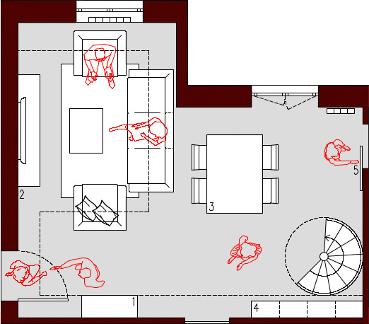 Progetto 30 mq architettura a domicilio - Planimetria casa 50 mq ...