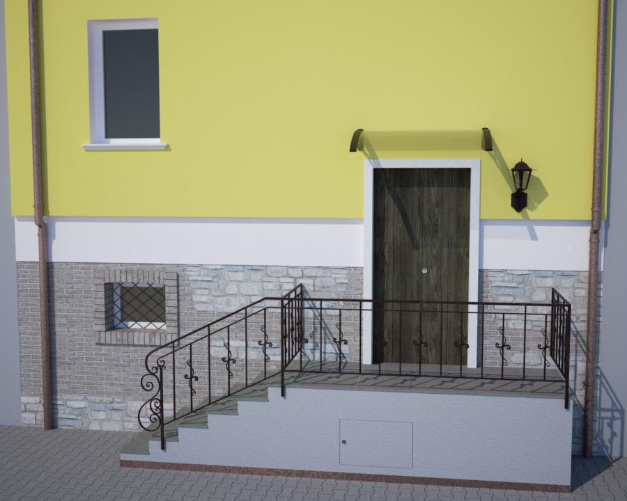 Ingresso esterno architettura a domicilio - Ingresso casa esterno ...