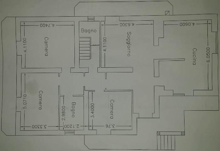Progetto 130 mq architettura a domicilio for Planimetrie seminterrato