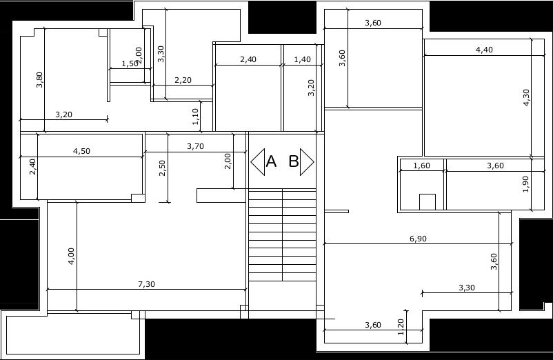 Progetto casa 60 mq progetto casa di riposo dwg con una for Monolocale dwg