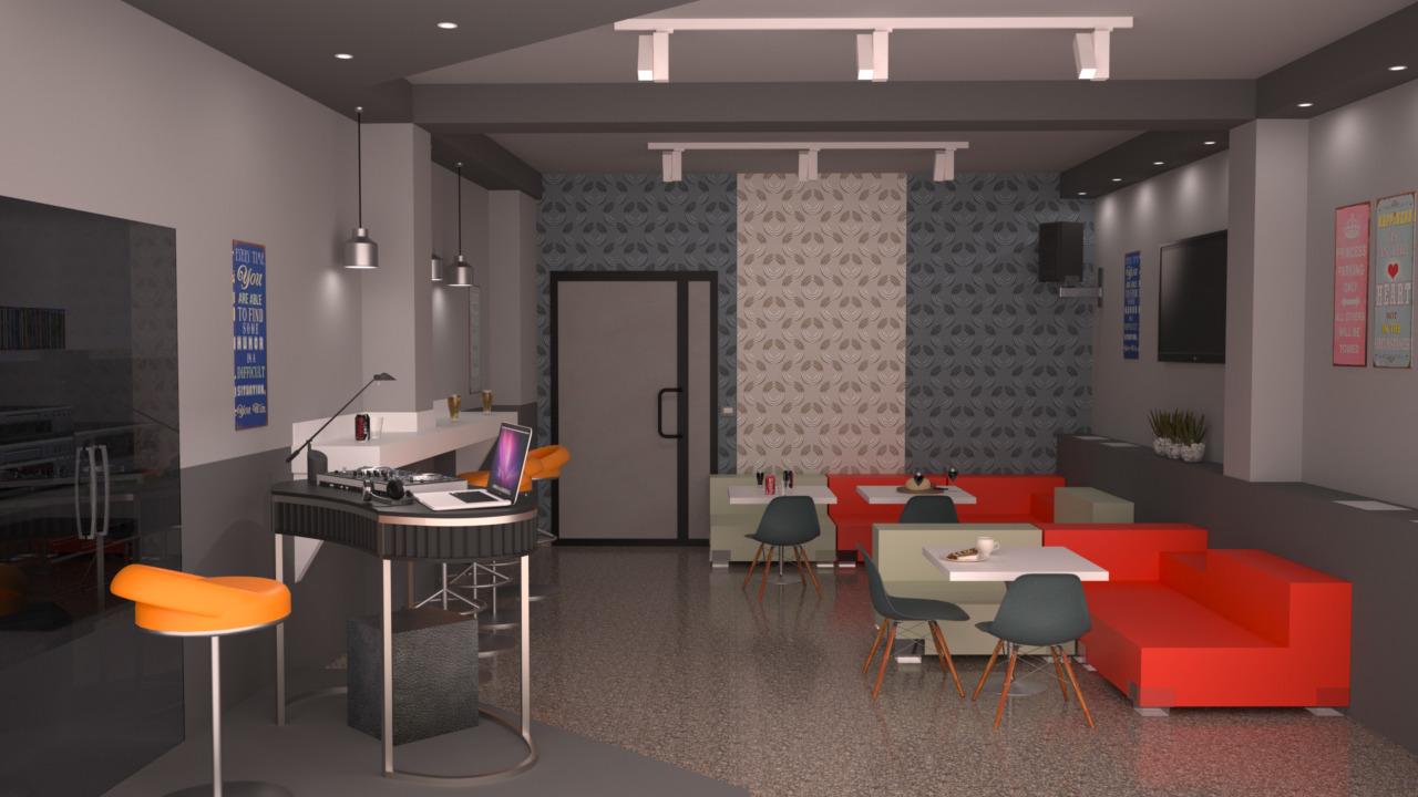 Sala Cucina 25 Mq progetto 30 mq-architettura a domicilio®