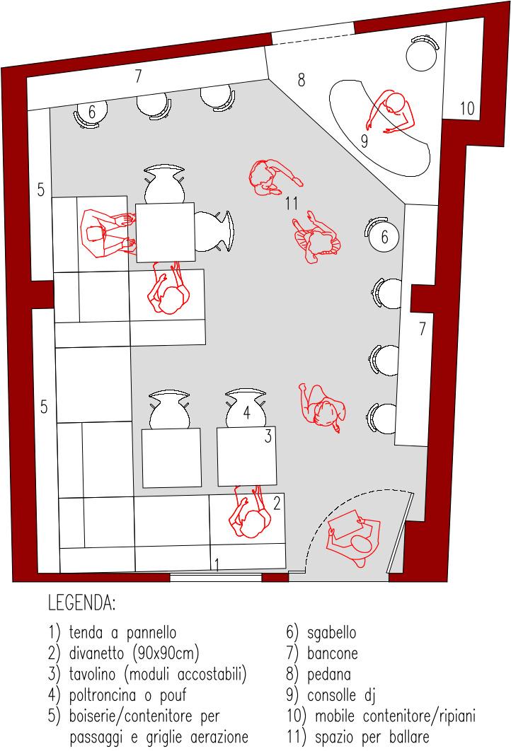 Progetto 30 mq architettura a domicilio for Giardino 30 mq progetto