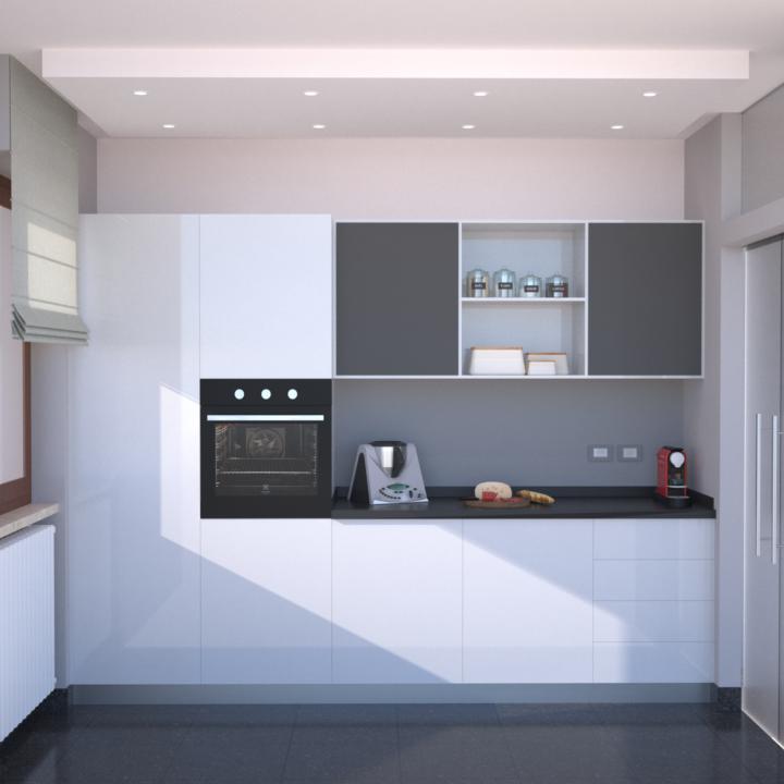 Progetti Cucina Soggiorno. Amazing Cucina Open Space Cucine ...
