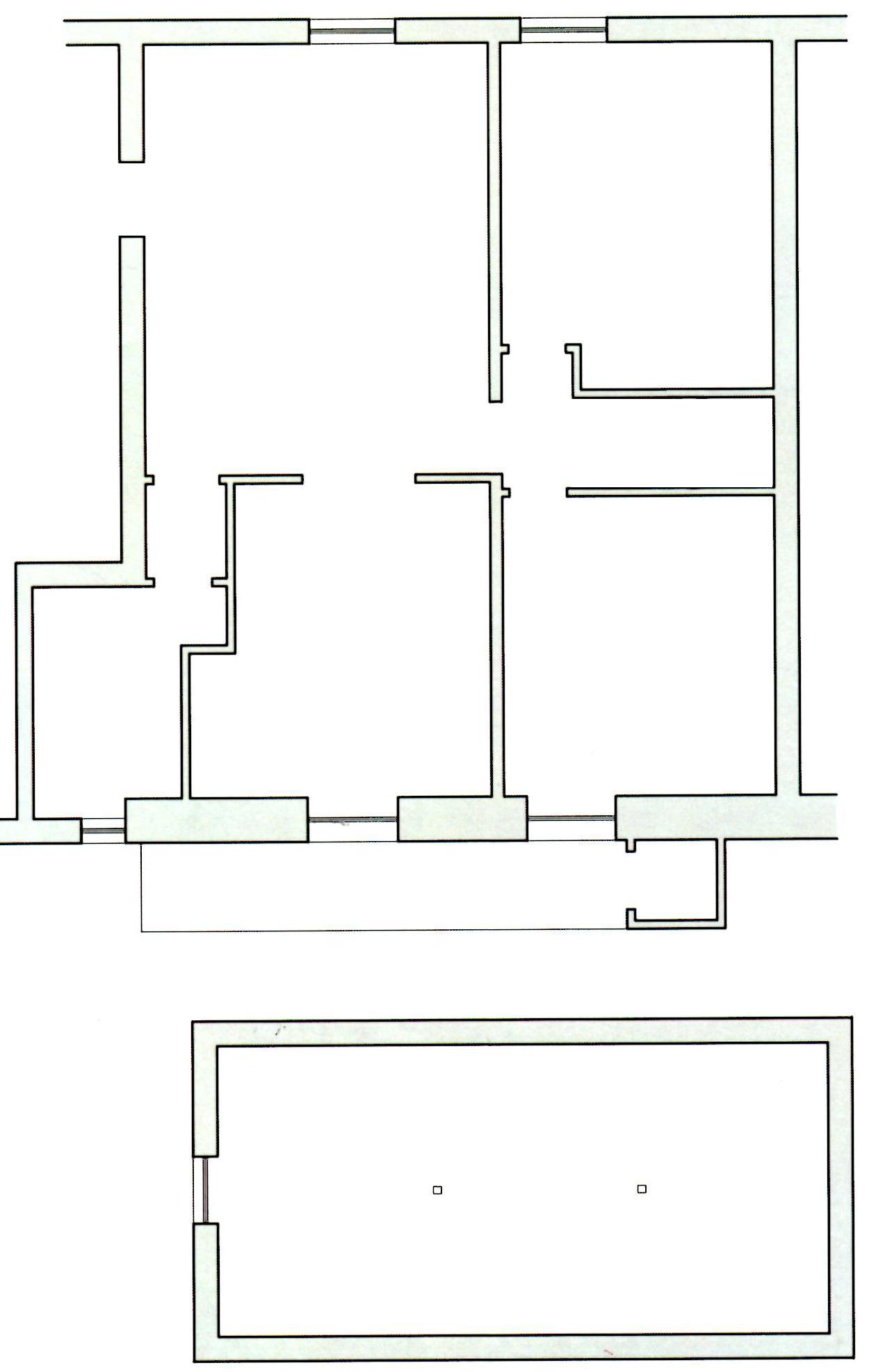 Progetto 97 mq architettura a domicilio for Progetta le planimetrie di casa online gratuitamente