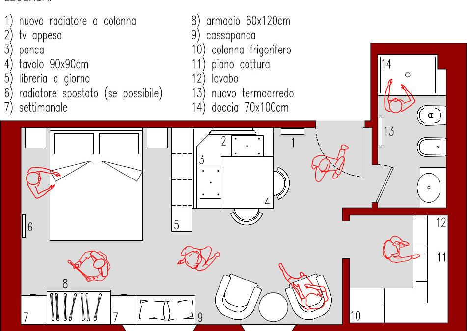 progetto 26 mq