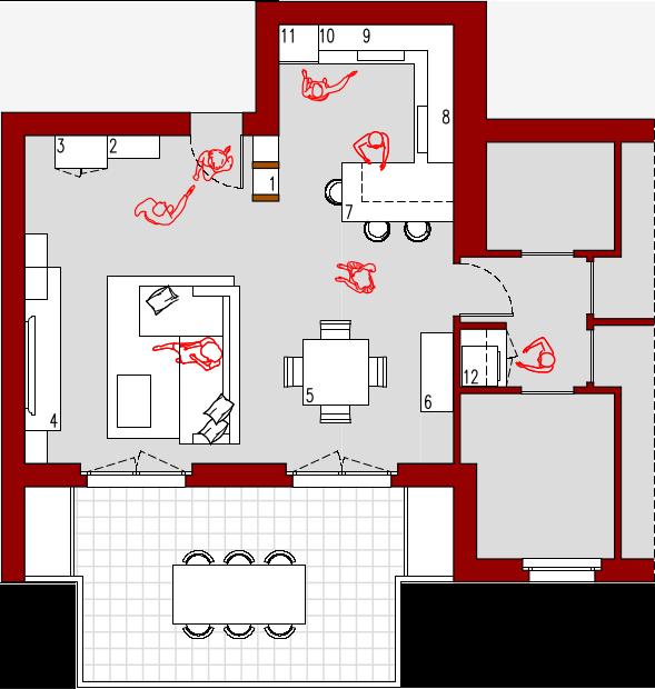 Progetto 37 mq architettura a domicilio for Progetto online