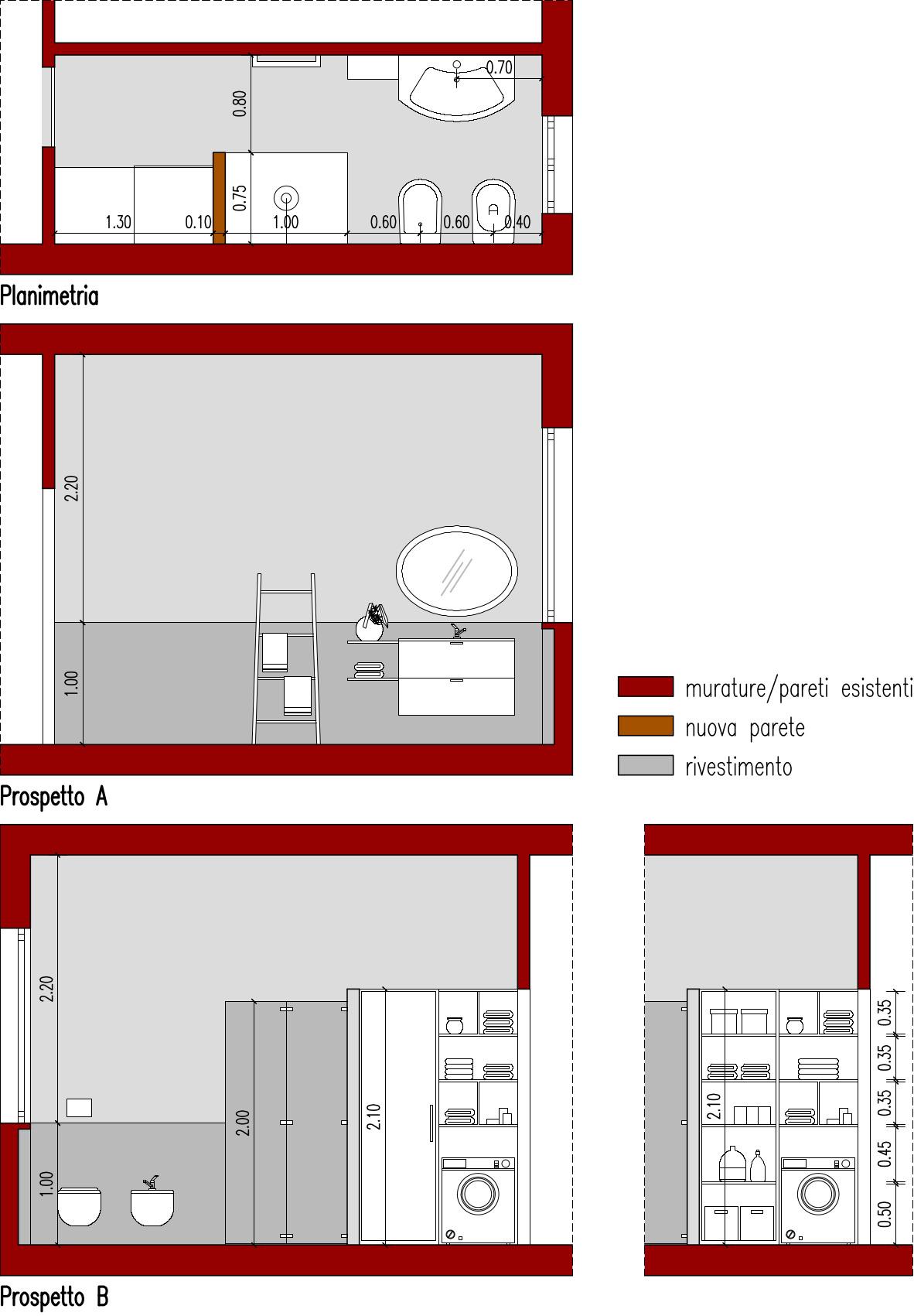 Progetto bagno 6 mq hv35 regardsdefemmes - Progetto bagno 2 mq ...