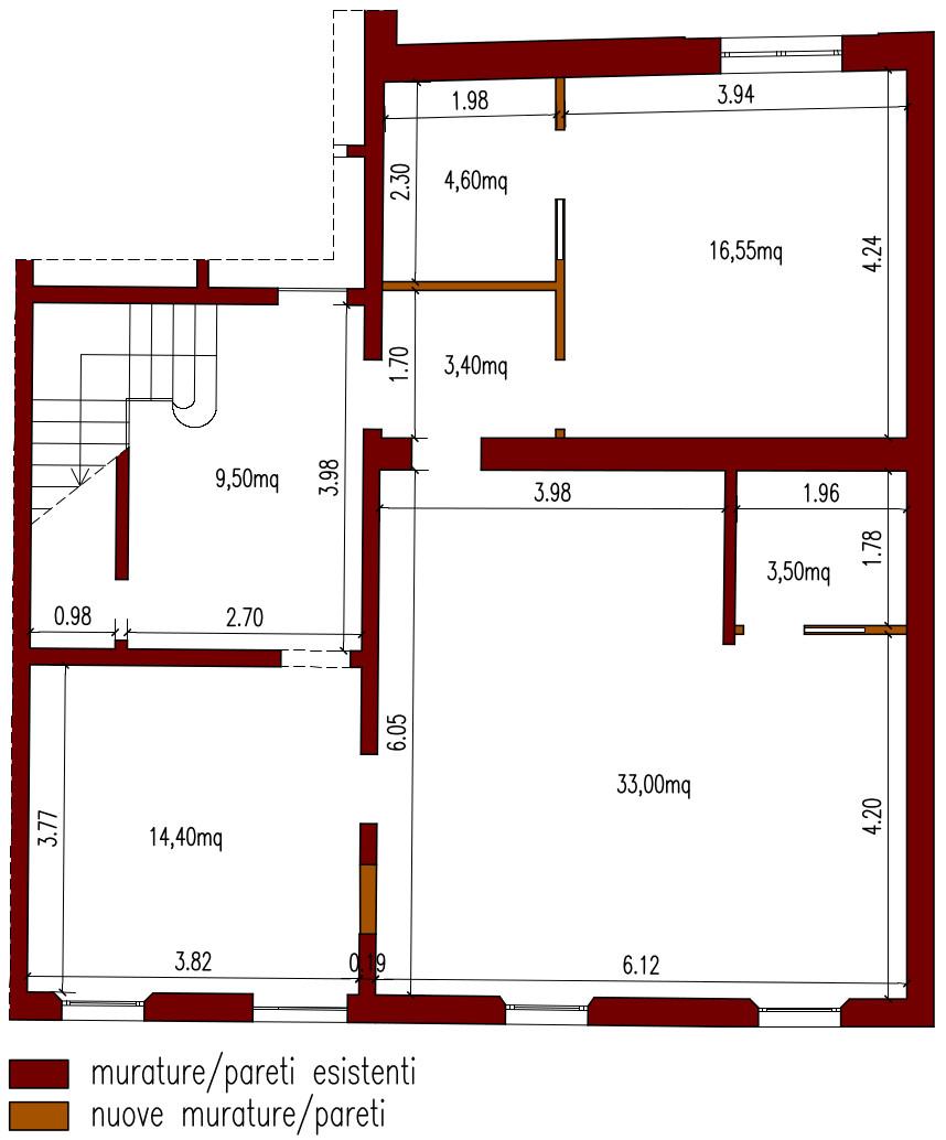 Casa 80 Mq Pianta progetto 80 mq-architettura a domicilio®