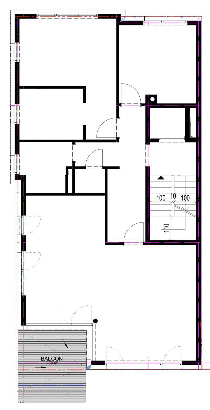 Progetto Appartamento 50 Mq progetto 100 mq-appartamento-architettura a domicilio®