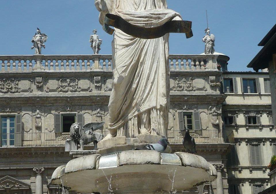 Statua di Madonna Verona