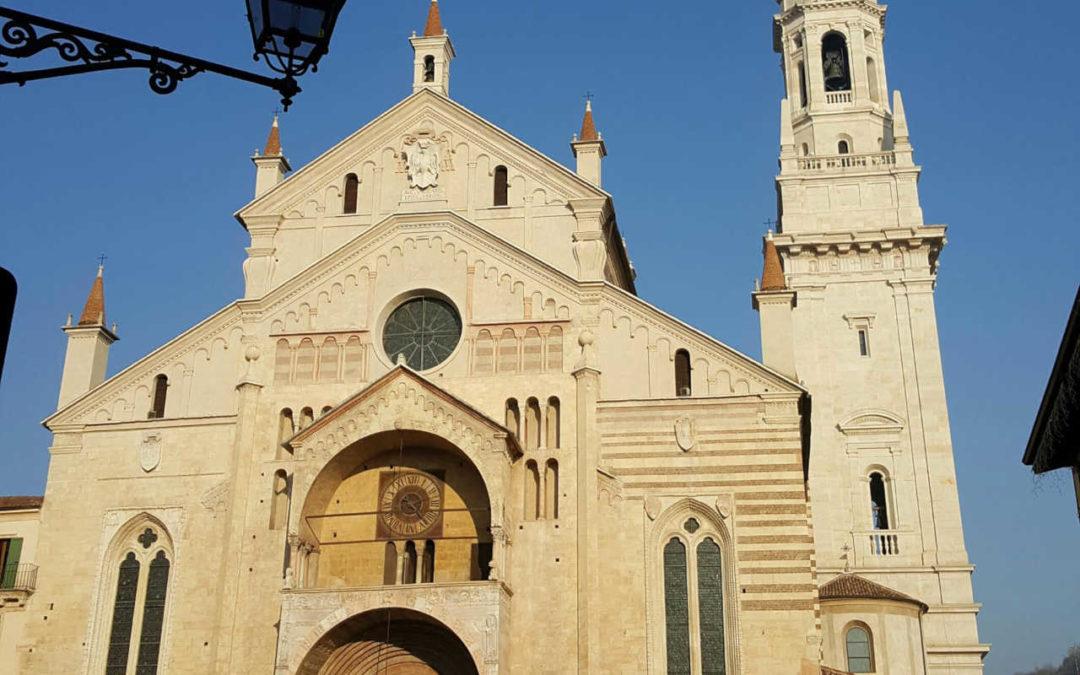 L'incompiuto campanile del Duomo di Verona
