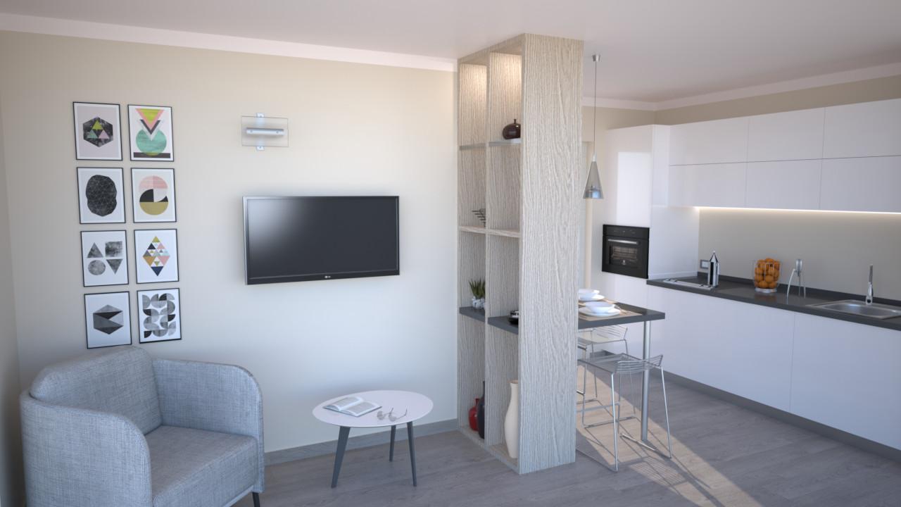 Pittura Vetrificata Per Cucina progetto online 25 mq-architettura a domicilio®