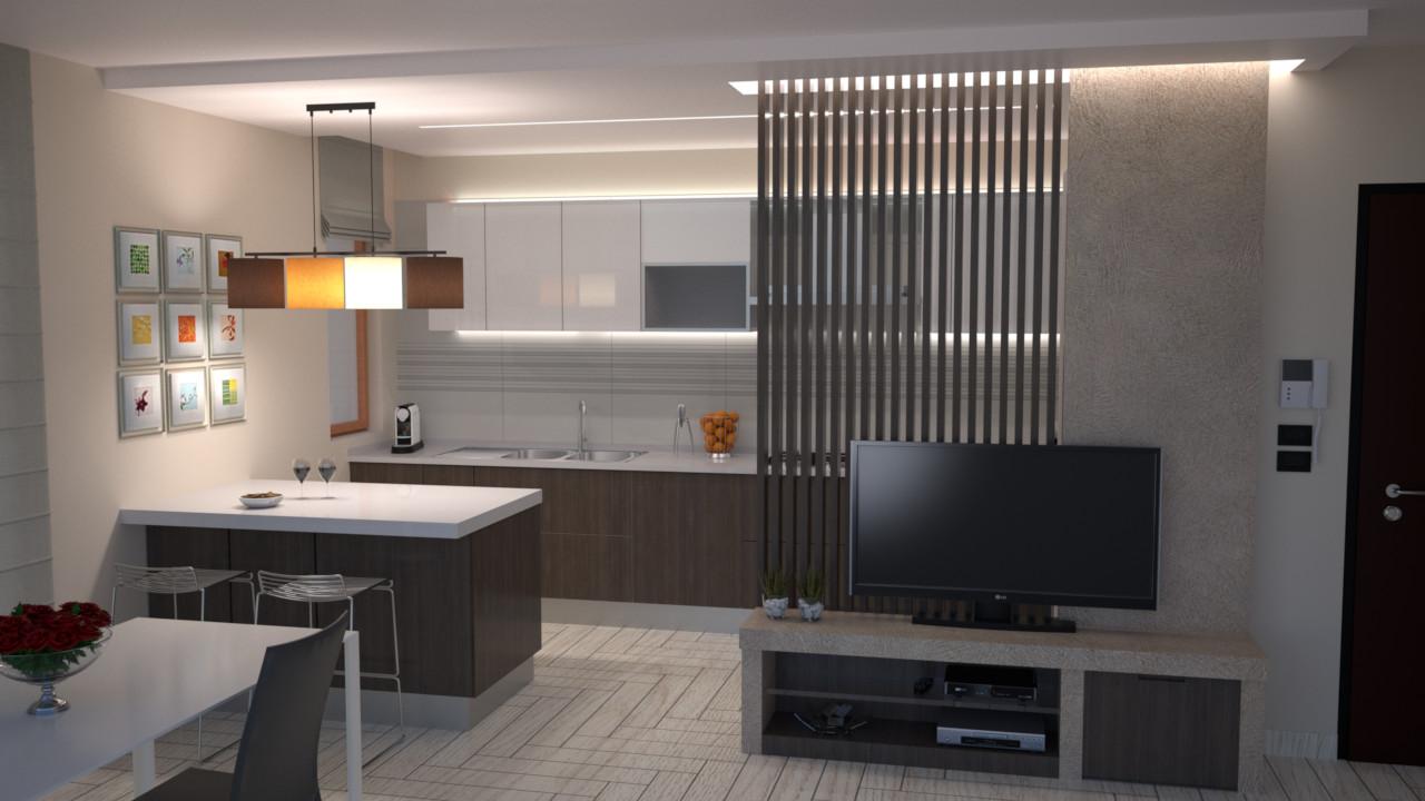 Progetto Appartamento 85 Mq progetto 85 mq-architettura a domicilio®