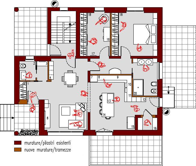 progetto-online-280-mq-zona-giorno-open-space-cucina-isola-planimetria-arredata-casa-indipendente-piano-terra