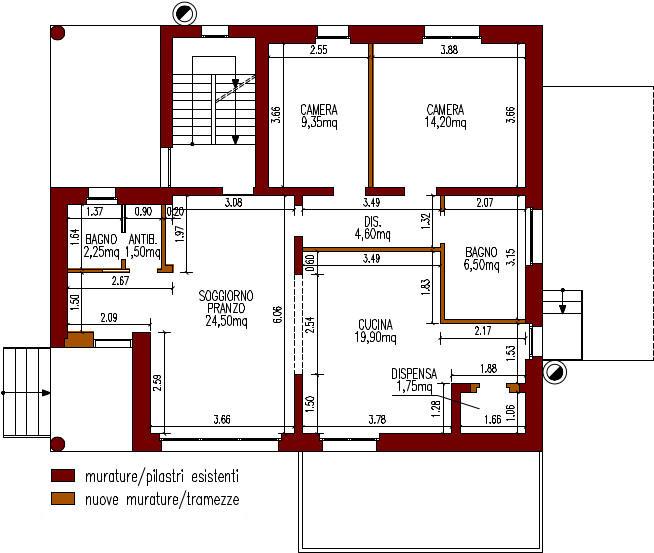 progetto-online-280-mq-zona-giorno-open-space-cucina-isola-planimetria-quotata-casa-indipendente-piano-terra